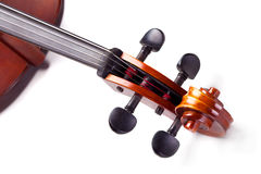 Rolle des Cellos Stockbild