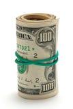 Rolle des Geldes stockfotos