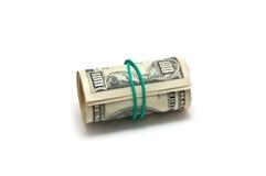 Rolle des Geldes lizenzfreie stockbilder