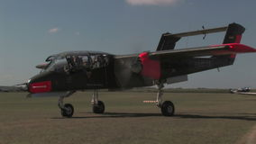 Rolle OCS 10 Aircarft stock video footage