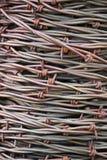 Rolle von Barb Wire Close Up Lizenzfreie Stockfotografie