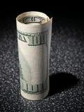 Rolle von den Dollar Stockfotos