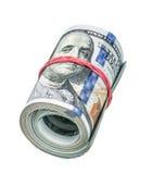 Rolle von Dollar Lizenzfreie Stockfotos
