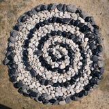 Rolle von Steinen Stockbild