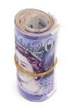 Rolle von Zwanzig Pfundanmerkungen Lizenzfreie Stockfotografie