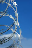 Rolled barbwire Royalty Free Stock Photo