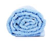 Rolled Bath Towel Stock Photo
