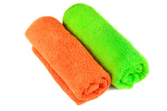 Rolled bath towels Royalty Free Stock Photos
