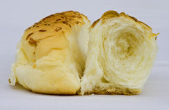 Rolled bun Royalty Free Stock Image