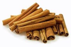 Rolled cinnamon Stock Image