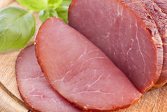 Rolled Fillet of Ham Royalty Free Stock Photos