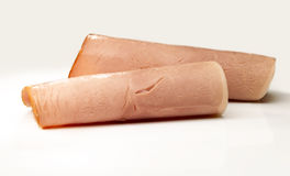 Rolled Ham Stock Photo