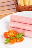 Rolled ham Royalty Free Stock Image