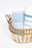 Rolled Hand Towels Royalty Free Stock Images