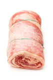 Rolled lamb breast Stock Photography