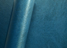 Rolled leather surface Royalty Free Stock Photo