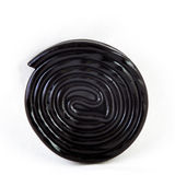 Rolled liquorice Royalty Free Stock Image