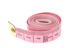 Rolled measuring tape Stock Photos