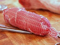 Rolled Meat Royalty Free Stock Photo