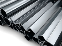 Rolled metal Royalty Free Stock Photography