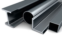 Rolled metal production Royalty Free Stock Photo