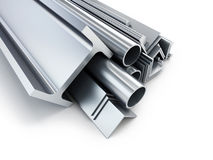 Rolled metal products Royalty Free Stock Photo
