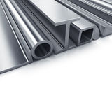 Rolled metal products Stock Photos