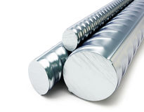 Rolled metal products Royalty Free Stock Photos