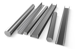 Rolled metal stock 5 Stock Image