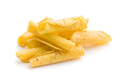 Rolled nacho chips Royalty Free Stock Images
