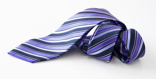 Rolled necktie Royalty Free Stock Image