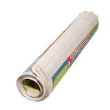Rolled newspapers Royalty Free Stock Photos