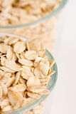 Rolled oats Stock Photo