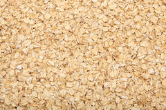 Rolled oats background Stock Photo