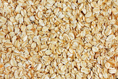 Rolled oats background Royalty Free Stock Photo