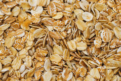 Rolled oats backgrounds Stock Image