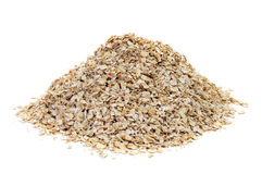 Rolled oats Stock Photography