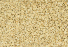 Rolled oats spread out Royalty Free Stock Photography