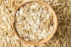 Rolled oats Stock Images