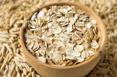Rolled oats Royalty Free Stock Photos