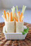 Rolled Piadina Stock Image
