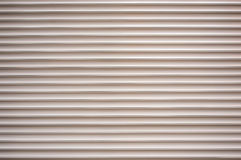 Rolled Plastic Shutter Door Royalty Free Stock Photography