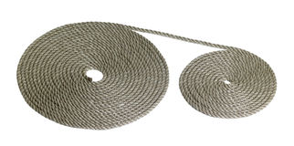 Rolled rope Royalty Free Stock Photo