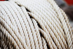 Rolled rope Royalty Free Stock Image
