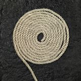 Rolled rope Stock Photo