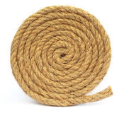 Rolled rope Stock Photography