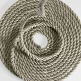 Rolled rope Royalty Free Stock Photography