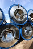 Rolled steel Stock Photo