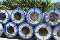 Rolled steel Stock Images