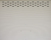 Rolled steel door. Stock Photography